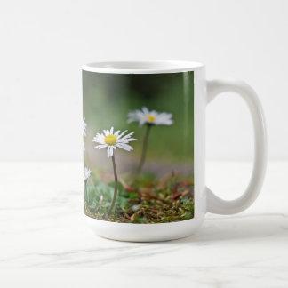 Gänseblümchen drinking container basic white mug