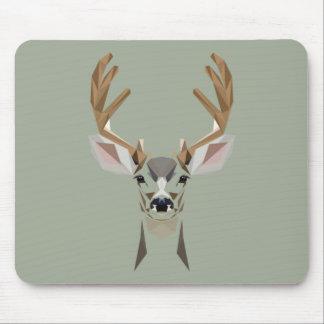 Gaphic deer mouse pad