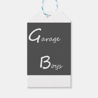 Garage Boys Logo Gift Tags
