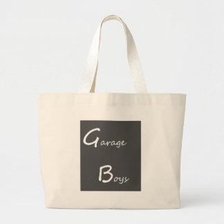 Garage Boys Logo Large Tote Bag
