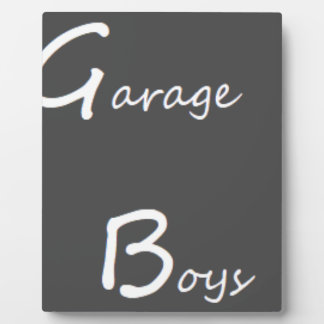 Garage Boys Logo Plaque