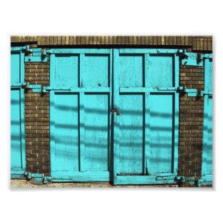 Garage Door Photo Print