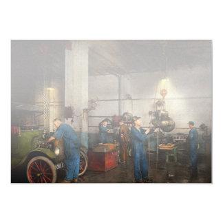 Garage - Mechanic - The overhaul 1919 Card