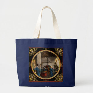 Garage - Mechanic - The overhaul 1919 Large Tote Bag