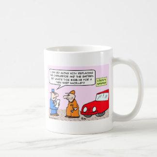 garage coffee mug