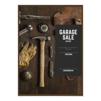Garage Sale 13 Cm X 18 Cm Invitation Card