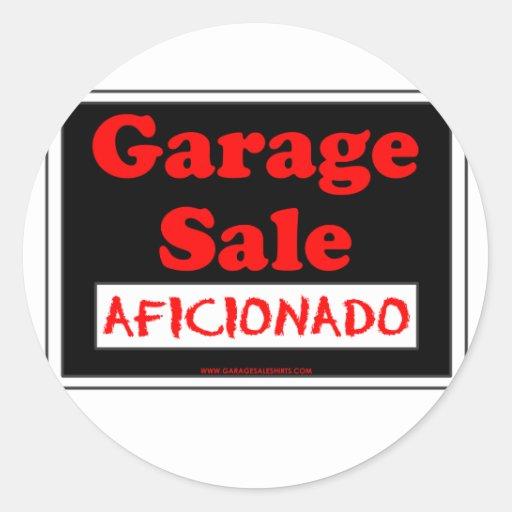 Garage Sale Aficionado Sticker
