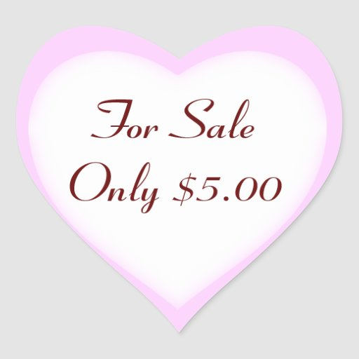 Garage Sale And Yard Sale Price Labels
