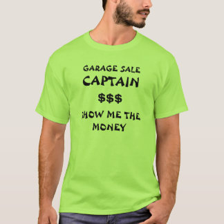 GARAGE SALE CAPTAIN - shirt