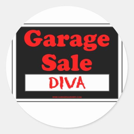 Garage Sale Diva Stickers