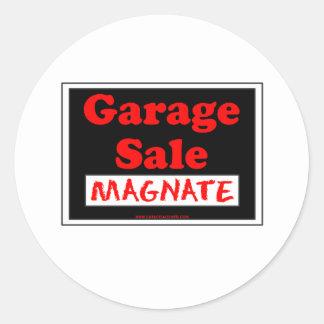 Garage Sale Magnate Stickers