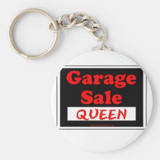 Garage Sale Queen Key Ring