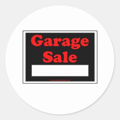 Garage Sale Stickers