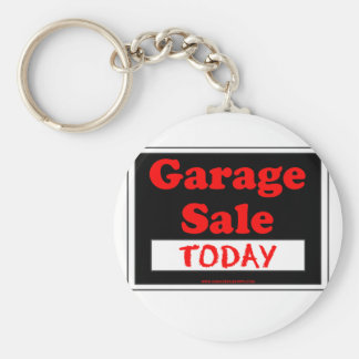 Garage Sale Today Basic Round Button Key Ring
