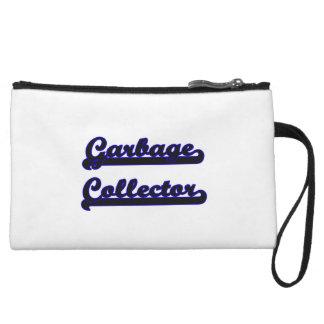 Garbage Collector Classic Job Design Wristlet Purse
