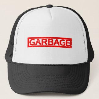Garbage Stamp Trucker Hat