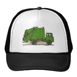 Garbage Truck Green Hat