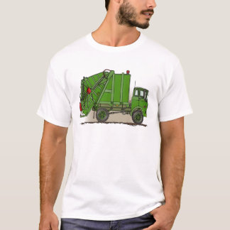 Garbage Truck Green Mans T-Shirt