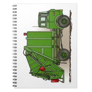 Garbage Truck Green Notebooks