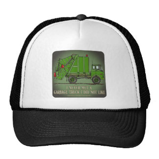 Garbage Truck Green Operator Quote Hat