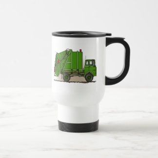 Garbage Truck Green Travel Mug