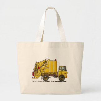 Garbage Truck Rear Loader Bags/Totes Jumbo Tote Bag