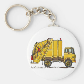 Garbage Truck Rear Loader Key Chains