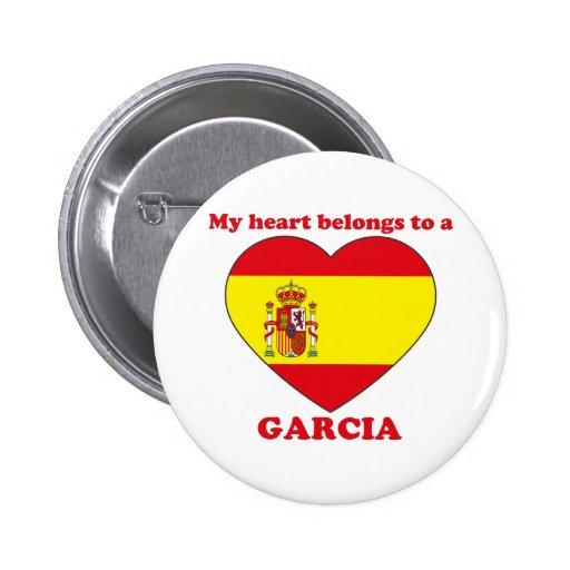Garcia Pinback Button