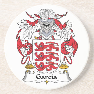 Garcia Coat of Arms Coaster