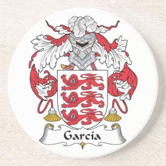Garcia Coat of Arms Beverage Coaster