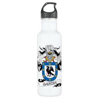 Garcia Family Crest 710 Ml Water Bottle