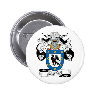 Garcia Family Crest Buttons