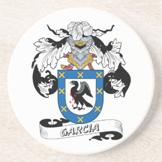 Garcia Family Crest Coaster