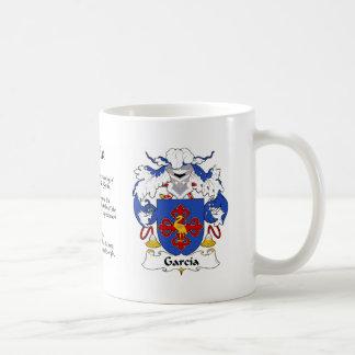 Garcia Family Crest Cup Mug