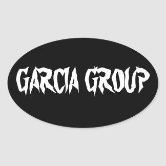 Garcia Group Oval Sticker