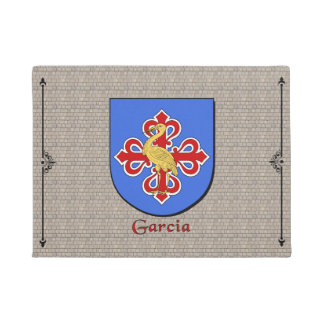 Garcia Historical Shield on Cobblestone Doormat