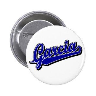 Garcia in Blue Button