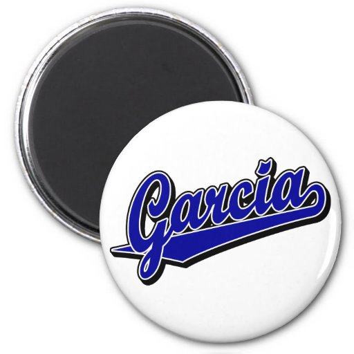 Garcia in Blue Magnets