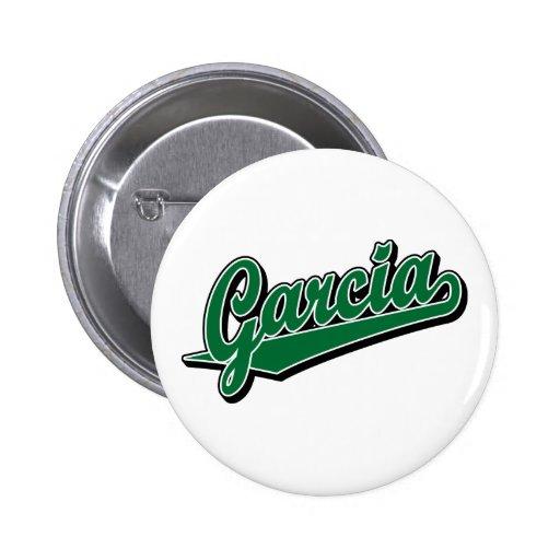 Garcia in Green Pin