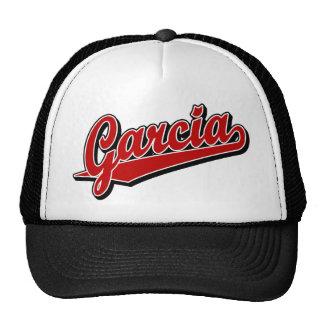 Garcia in Red Trucker Hat