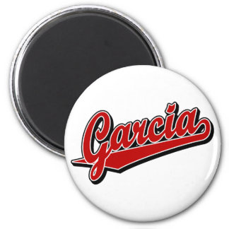 Garcia in Red Refrigerator Magnets