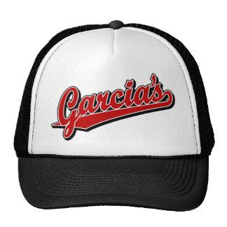 Garcia's in Red Trucker Hats
