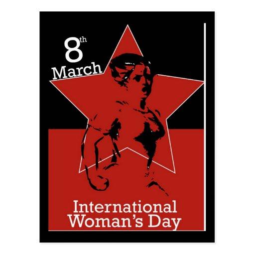 Garcya_greeting_card03 International Womens Day Post Card