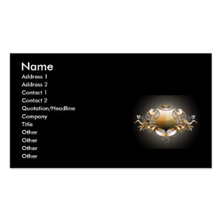 Garcya.us_Heraldic_3, Name, Address 1, Address ... Business Card