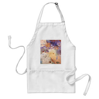 Garden abstract painting standard apron