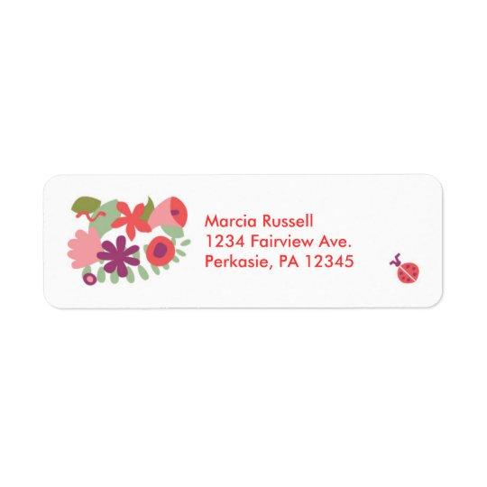 Garden Address Label