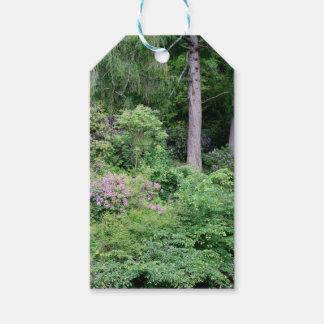 Garden and stream, highlands,Scotland Gift Tags