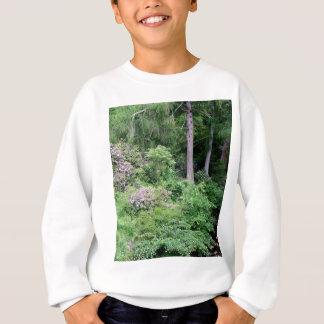Garden and stream, highlands,Scotland Sweatshirt