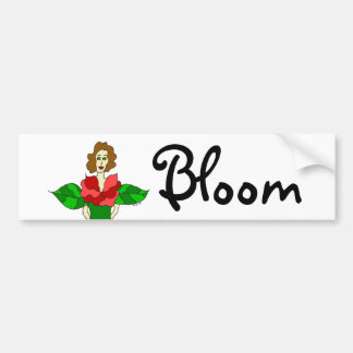 "Garden Angel ""Bloom"" Bumper Sticker"