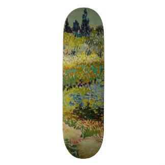 Garden at Arles by Vincent Van Gogh 21.3 Cm Mini Skateboard Deck